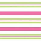 Pink & Green striped cello sheet gift bag wrap supplies