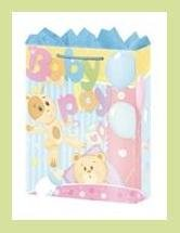Baby Play baby shower gift bag wrap supplies decoration
