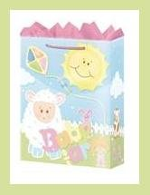 Baby Farm baby shower gift bag - wrap supplies decoration
