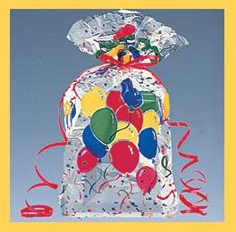 Cello Party/Loot Bags � Party Balloons � 10 ct