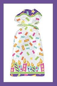 Cello Party/Loot Bags � Confetti & Candles � 10 CT