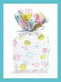 Cello Party/Loot Bags � Mod Dots � 10 ct