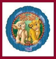 Lion King party balloon Simba & Nala birthday supplies