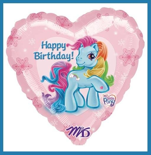 My Little Pony Birthday party balloon - decorations