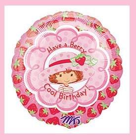 Strawberry Shortcake Birthday balloon - party supplies