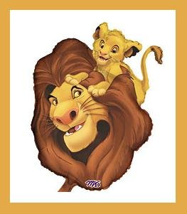 Lion King Balloon Simba Amp Mufasa Party Supplies