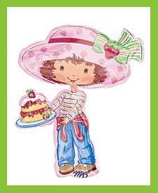 Strawberry Shortcake birthday party balloon supplies