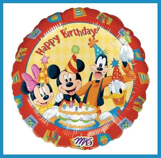 Mickey Mouse & Pals Disney birthday party balloons