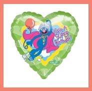 Sesame Street Grover birthday party balloons supplies