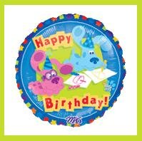 Blues Clues birthday balloons party supplies decorations
