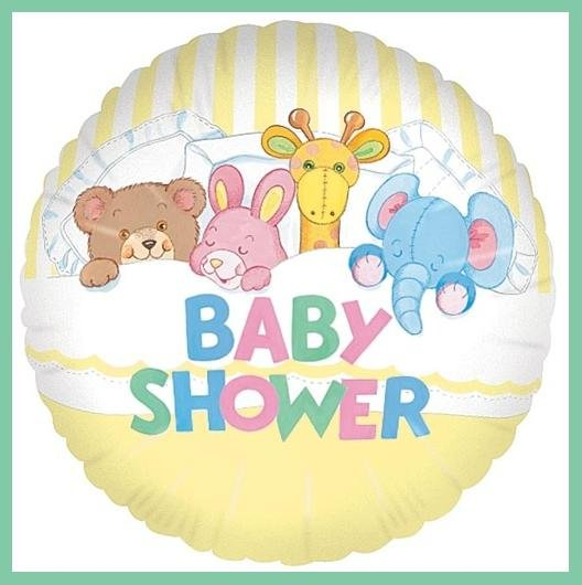 Baby shower party balloons supplies decorations