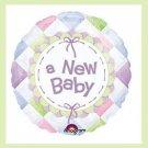New Baby mylar balloons baby shower supplies
