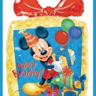 Mickey Mouse Disney Gift shaped party balloons supplies