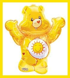 Funshine Care Bear balloons party supplies decorations