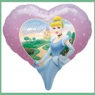 Cinderella Birthday Party Balloons Disney Princess Heart