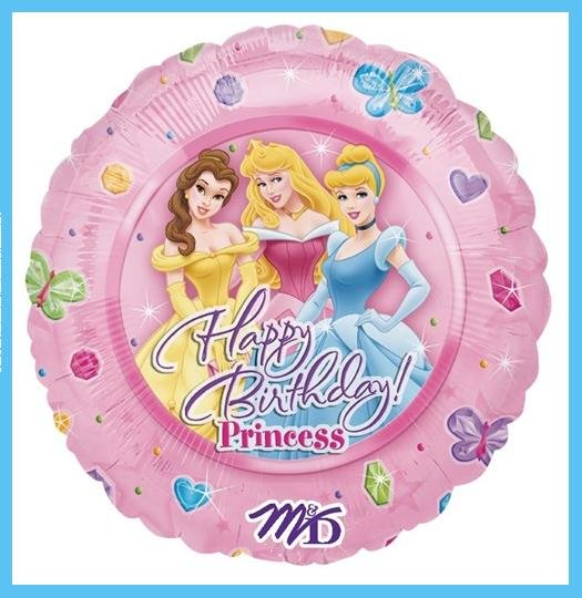 Disney Princess Birthday Party Balloons - decorations