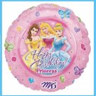 Disney Princess Birthday Party Balloons - decorations
