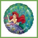 Little Mermaid Ariel birthday balloons Disney Princess