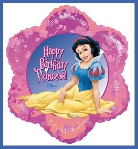 Snow White Birthday Party Balloons - Disney Princess
