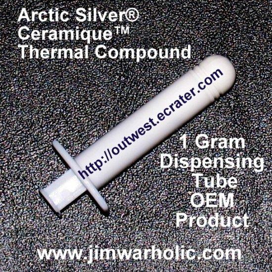OEM Arctic Silver® Ceramique� Thermal Heatsink Compound 1 Gram