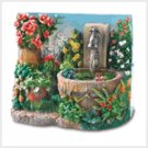 38802 Floral Fantasy Mini-Fountain