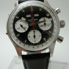 Vintage Men's Breitling Wakmann Triple Date Chronograph Watch