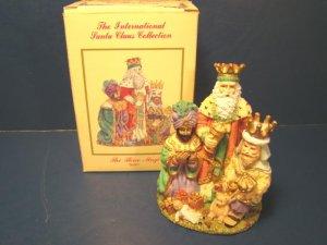 1995 Spain three Magi Kings 3 Wise Men Christmas figurine international Santa Claus collection SC19
