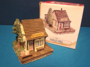 Marshal's Office Liberty Falls miniature jail house AH15 Americana Collection Colorado building