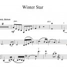 Digital Download: Cello Duet Sheet Music: 'Winter Star' by Tina Guo
