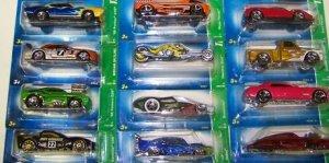 2007 Hotwheels Hot Wheels Treasure Hunt Set