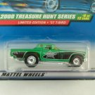 2000 Hot Wheels Hotwheels Treasure Hunt '57 T-Bird
