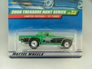 2000 Hot Wheels Hotwheels Treasure Hunt '57 T-Bird
