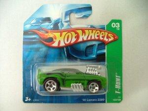 2007 Hot Wheels Hotwheels Treasure Hunt '69 Camaro Z28 SC