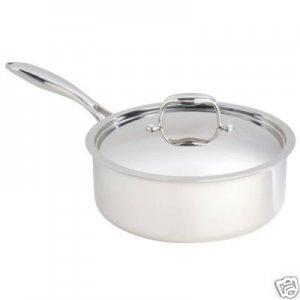 Paderno Fusion5 4 Quart Saute Pan with cover