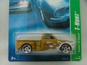2007 Hot Wheels Hotwheels Treasure Hunt '69 Custom Chevy
