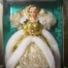 1994 Special Edition Happy Holidays Blond Barbie with a 5 x 7 Picture suitable for framing