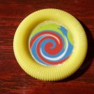 Barbie & Friends Yellow Swirly Center Frisbee Toy VGC