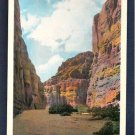 Vintage Unused Williard C T Art Colored Painted Canyon Colorado Desert California CA Postcard
