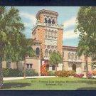 Vintage Postcard S51 Famous John Ringling Mansion Genuine Curteich Florida Linen Postcards