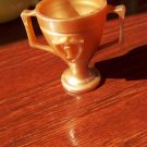 Barbie and Friends Size 1st Place Copper Colored two handled Trophy
