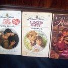 3 Romance Book Lot Savage Adoration Penny Jordan Vision Of Love Graham Wild Side Diana Hamilton