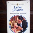 Tempestuous Reunion by Lynne Graham Harlequin Presents Romance Book No 1551