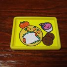 Barbie Francie Blythe & Friends Size Yellow Lunch Tray Toy Food Accessory