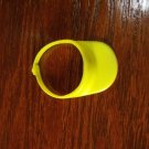 Barbie Size Yellow Snap Back Sun Visor Doll Accessory