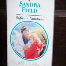Safety in Numbers by Sandra Field Harlequin Presents Novel Paperback Romance Book No 1506