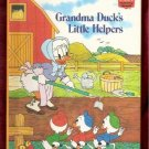 Grandma Ducks Little Helpers Huey Louie Dewey Walt Disney Productions  Children's Collectable Book 1