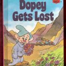 Dopey Gets Lost Walt Disney Productions Presents Childrens Collectable 1st Edition Hardcover Book 19