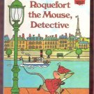 Roquefort the Mouse Detective Walt Disney Productions Children's Collectable 1st Edition Book 1980