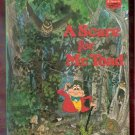 A Scare for Mr Toad Walt Disney Productions Presents Children's Collectable Book 1985