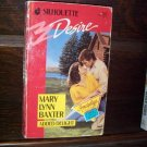Added Delight by Mary Lynn Baxter Silhouette Desire Romance Book #527 October 1989